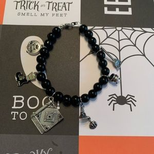 """Good witch"" charm bracelet"